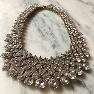 Crystal Collar Necklace by Banana Republic